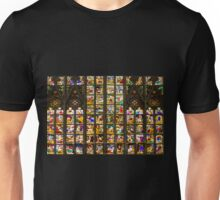 Colourful stained-glass windows in Milan Cathedral, ITALY Unisex T-Shirt