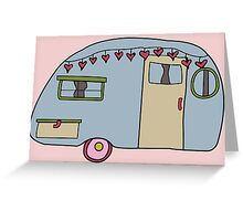Retro camper Greeting Card