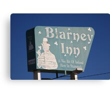 Route 66 - Blarney Inn Canvas Print