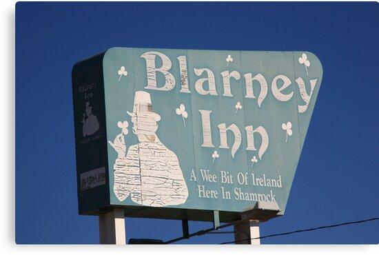 Route 66 - Blarney Inn by Frank Romeo