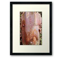 McCormick-Deering No. 7  Framed Print