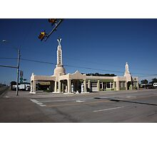 Route 66 - Conoco Tower Station Photographic Print