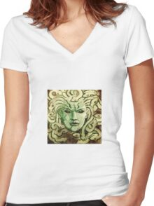 Gorgon Women's Fitted V-Neck T-Shirt