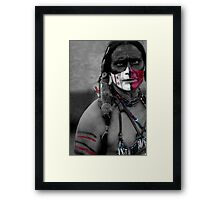 Fierce Framed Print