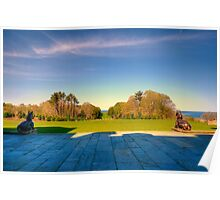 Rolling Hills at Crane Estate Poster