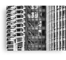 Marina Towers, IBM Building, Trump Tower Canvas Print