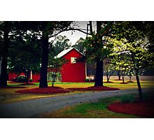 Of Barns and Blossoms Photographic Print