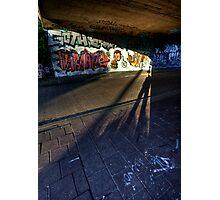 Shadow Play Photographic Print