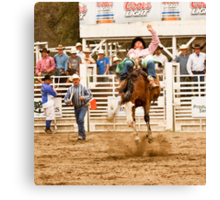 Rodeo - Bucking Bronco  Canvas Print