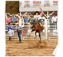 Rodeo - Bucking Bronco  Poster