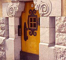 Finland, Doorway, Helsinki. by johnrf