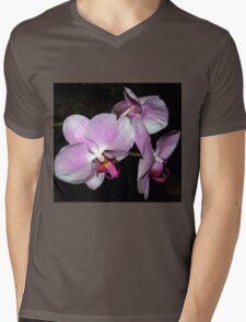Purple orchids Mens V-Neck T-Shirt