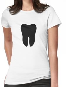 Tooth Womens Fitted T-Shirt