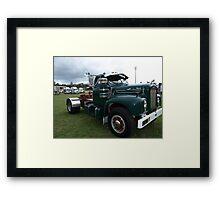MACK TRUCK Framed Print