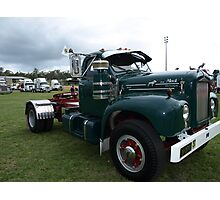 MACK TRUCK Photographic Print