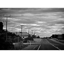 Small Town, S.A. Photographic Print