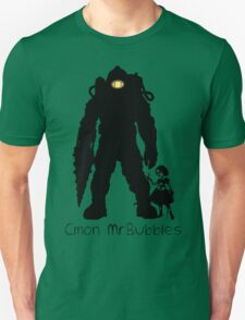 Cmon Mr.bubbles Unisex T-Shirt