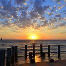 Late Summer Sunset 3 by Debbie  Maglothin