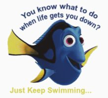 Dory: Just keep swimming... One Piece - Long Sleeve