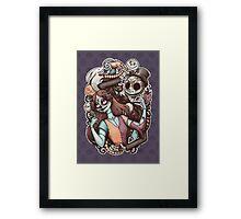 Nightmare de los Muertos Framed Print