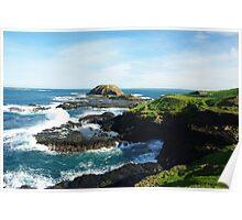 Coastline Phillip Island Australia Poster