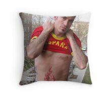 Mr Espana Throw Pillow