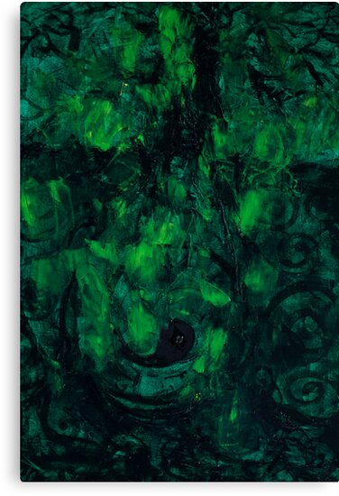 Deep Green Thoughts  by Stella  Shube As