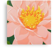 Tranquil Water Lily Canvas Print