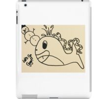 The three unexpected companions iPad Case/Skin