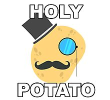 Holy Potato Photographic Print