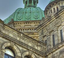 Parliament Buildings Victoria BC Canada by sprucedimages