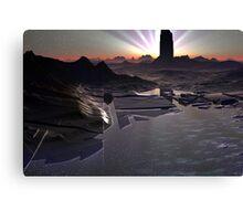 Dark Tower Dawn Canvas Print