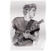 Niall On Stage Poster