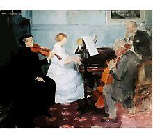 Jules Alexandre Grün Chamber Music Concert Photographic Print