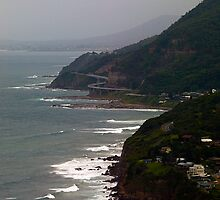Sea Cliff Bridge from Stanwell Tops by Odille Esmonde-Morgan