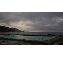 Swimmer and Sunrise, Coalcliff NSW Photographic Print