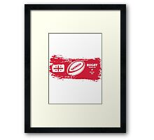 Georgia Rugby World Cup Framed Print
