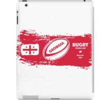 Georgia Rugby World Cup iPad Case/Skin