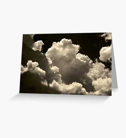 Cotton Candy Clouds Greeting Card