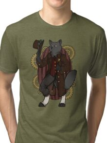 The Regal Wolf Tri-blend T-Shirt