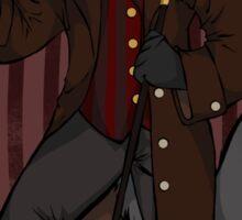 The Regal Wolf Sticker