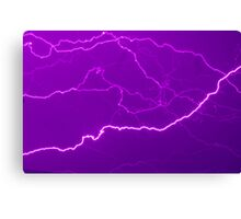 Mapping Purple #11 - NSW Canvas Print