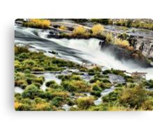 Sherar Falls Deschutes River Oregon Canvas Print