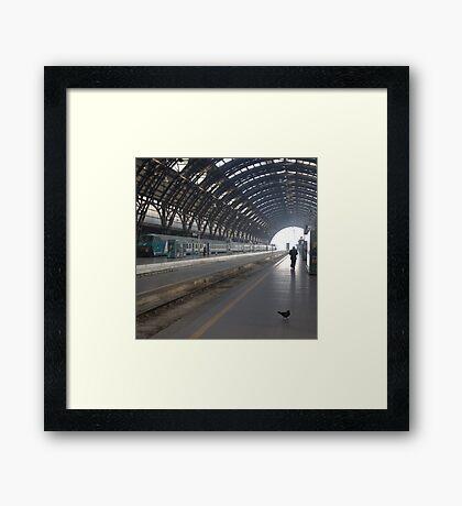 Milan - I Travel Framed Print