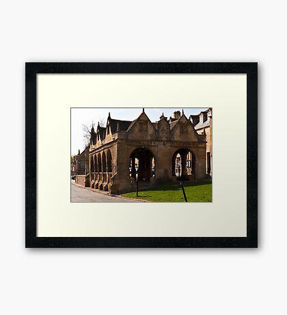 Chipping Campden Market Hall  Cotswolds UK  Framed Print