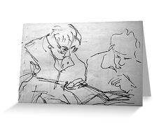 Sketch Book - Ladies Greeting Card