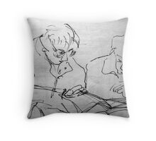 Sketch Book - Ladies Throw Pillow