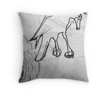 Sketch Book - Bird Throw Pillow