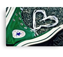 converse love.. Canvas Print