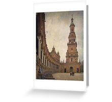 Sevilla - Plaza de España Greeting Card